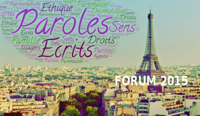 Forum 2015 PARIS: « La famille et ce qu'on en dit… » – Fable de Michel BILLE
