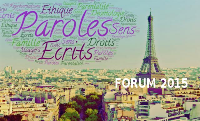 Forum 2015 PARIS: «Les Mots d'avant» par Philippe BOUCQUIAUX