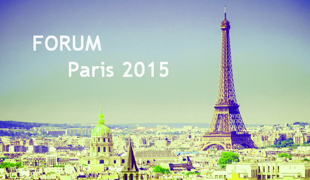 Forum 2015 – PRE-PROGRAMME et BULLETIN D'INSCRIPTION